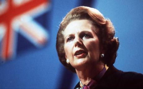 Margaret Thatcher - speech
