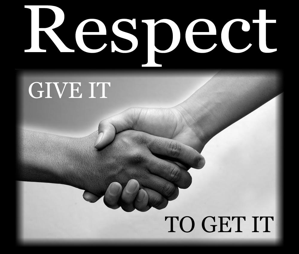 Hormati orang lain untuk dihormati