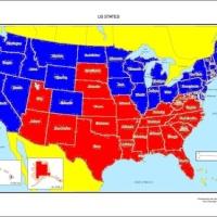 A political divide